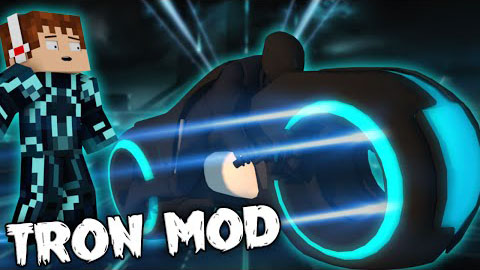 dec1c  Tron Mod [1.7.10] Tron Mod Download