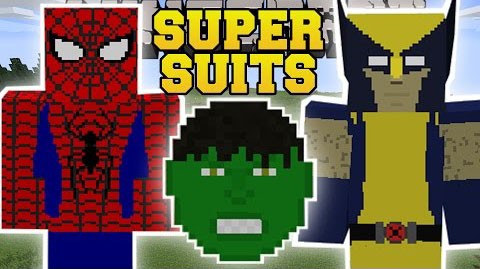 36e7e  SuperHuman Mod [1.7.10] SuperHuman (Super Suits) Mod Download