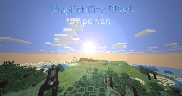 90a41  Simplisticity resource pack [1.9.4/1.8.9] [16x] SimplistiCity Texture Pack Download
