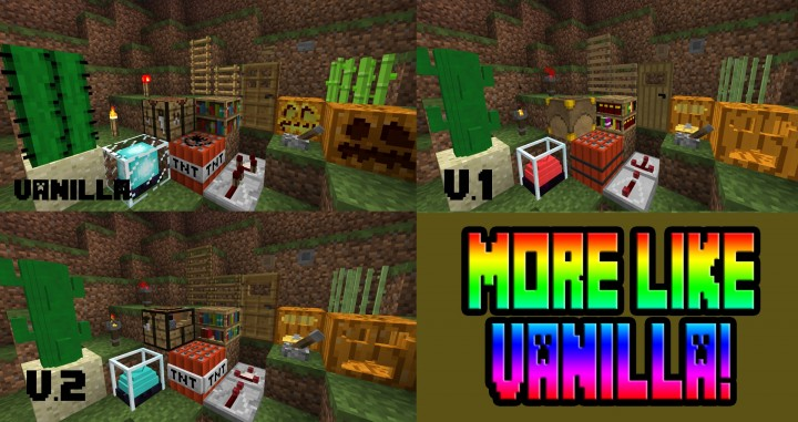 96c19  A touch of 3d resource pack 7 [1.9.4/1.8.9] [16x] A Touch Of 3D Texture Pack Download