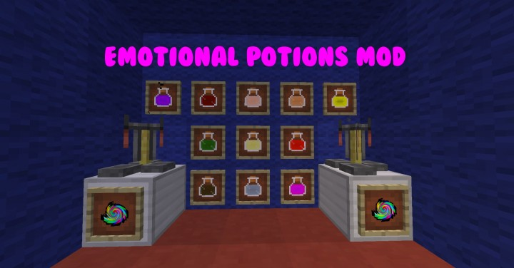 c46cf  Emotional Potions Mod 1 [1.7.10] Emotional Potions Mod Download
