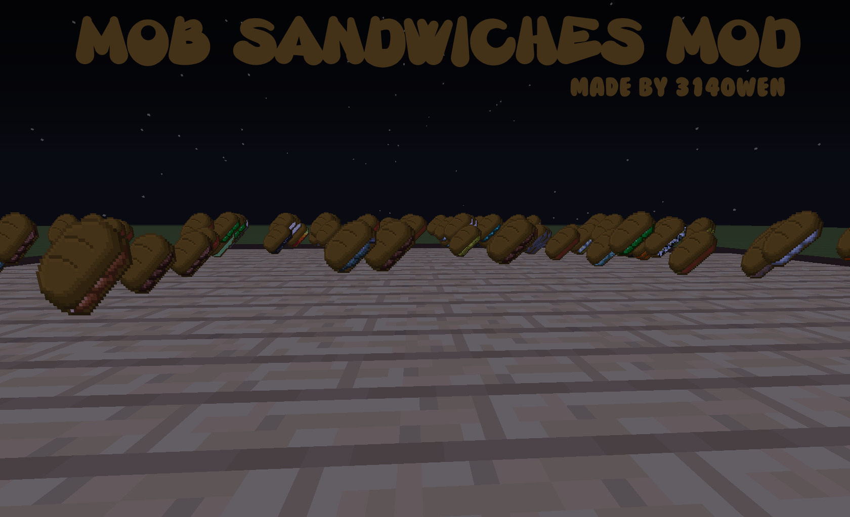 Cd5c8 mob sandwiches mod 1 1 7 10 mob sandwiches mod download