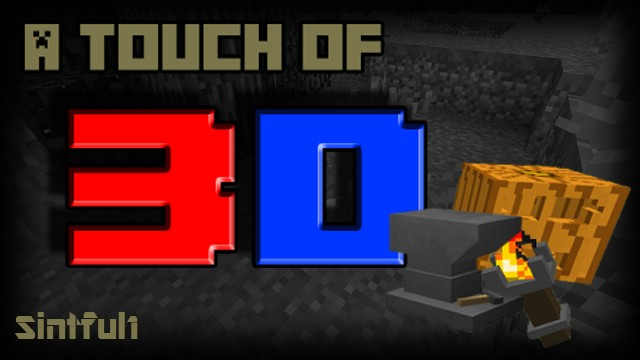 deac9  A touch of 3d resource pack [1.9.4/1.8.9] [16x] A Touch Of 3D Texture Pack Download