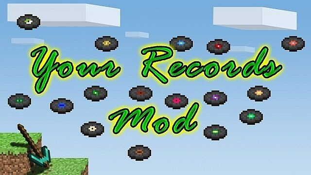 08ec2  Your Records Mod [1.7.10] Your Records Mod Download