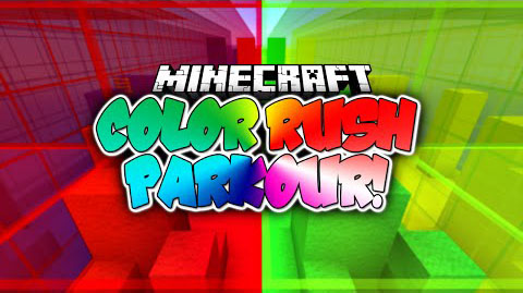 4d317  Colour Rush Parkour Map [1.8] Colour Rush Parkour Map Download