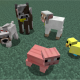 [1.7.10] Baby Animals Model Swapper/Squickens Mod Download