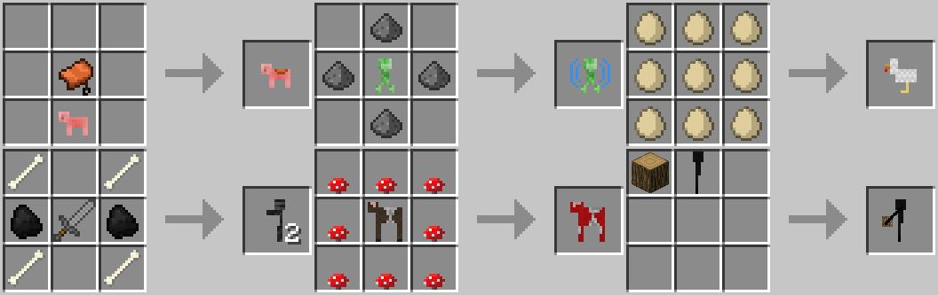 e84c1  hLPuTzR Craftable Animals Recipes