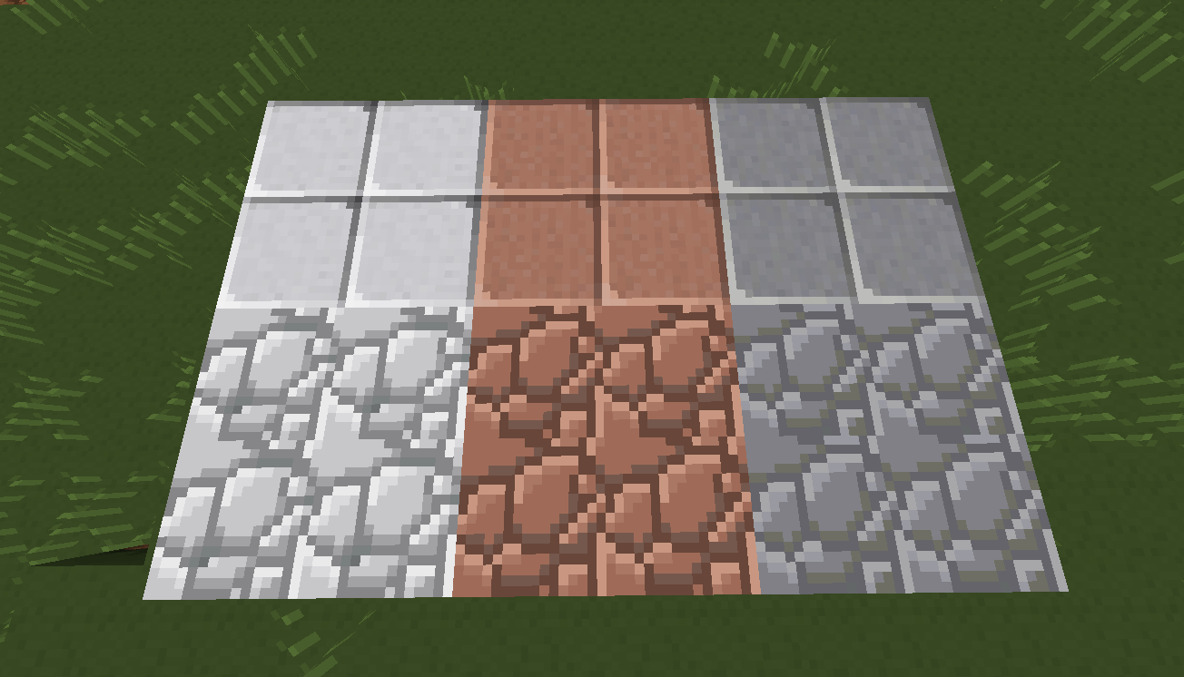 02 - Diorite Granite Andesite All Added Including Polished Variants