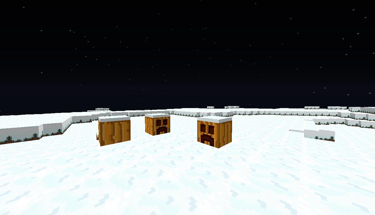 06 SnowPumpkins [1.9.4/1.8.9] [16x] CRISP – Simplicity At Its Finest Texture Pack Download