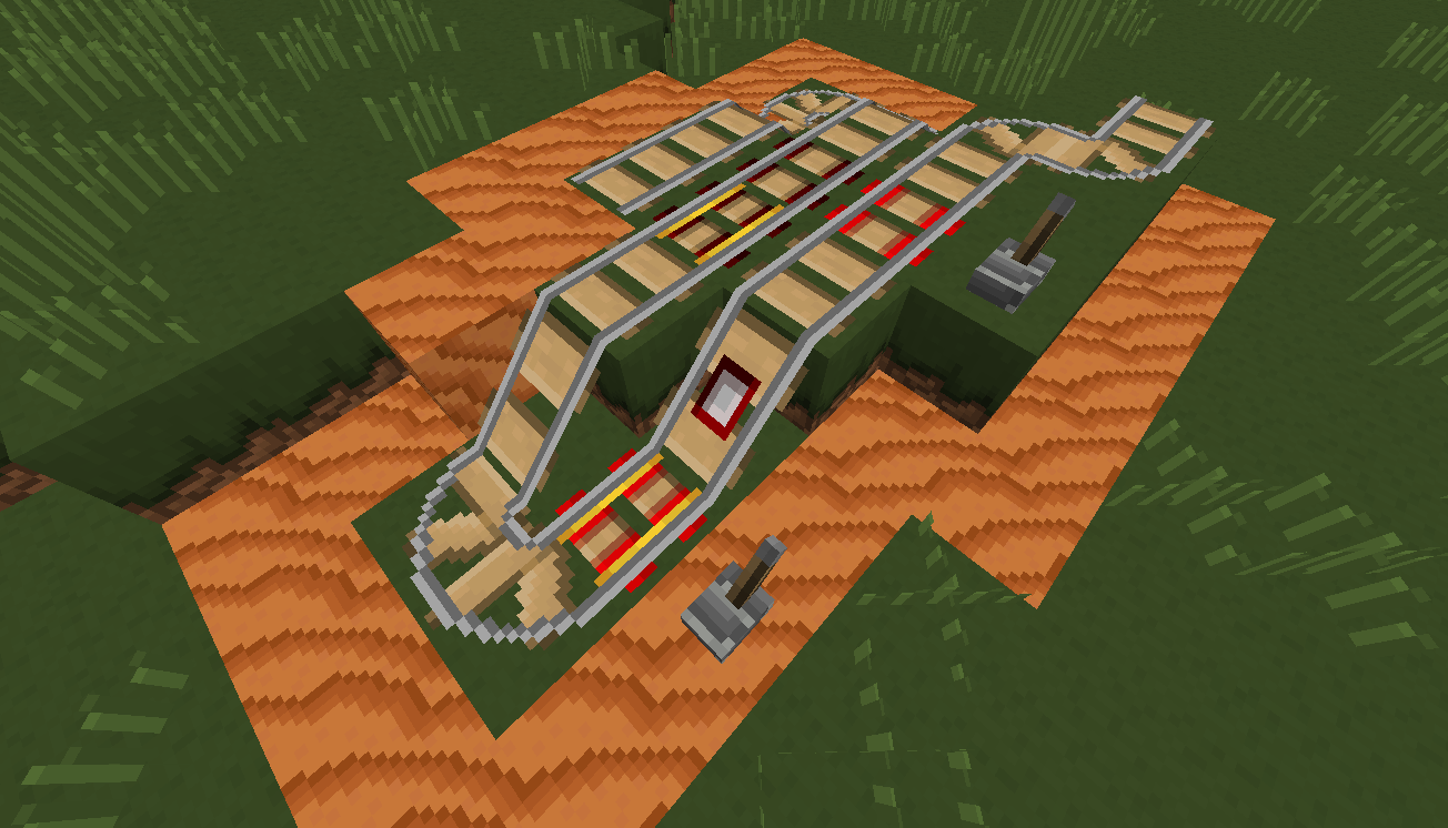 07 Red Sand Rails Added All Rail Variants [1.9.4/1.8.9] [16x] CRISP – Simplicity At Its Finest Texture Pack Download