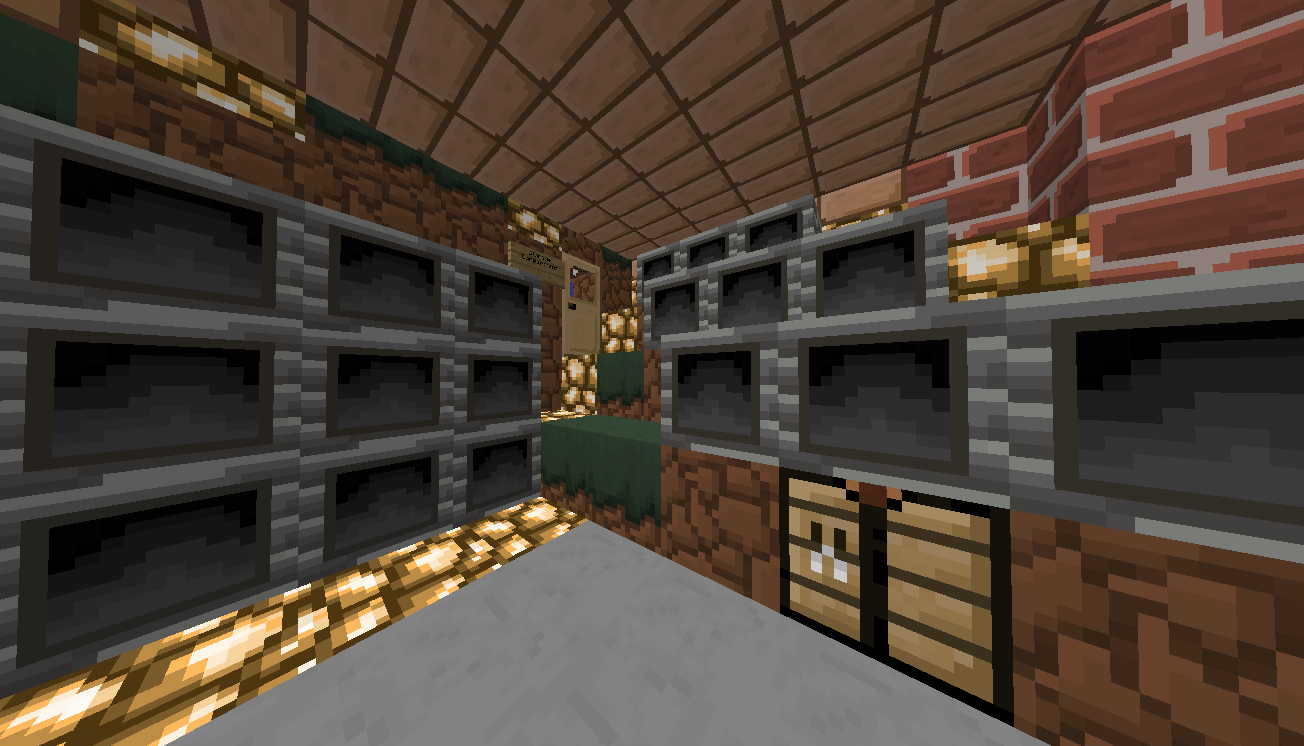 12 Furnace Room [1.9.4/1.8.9] [16x] CRISP – Simplicity At Its Finest Texture Pack Download