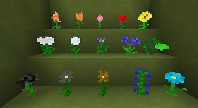 157c1  Flowercraft Mod 2 [1.10.2] Flowercraft Mod Download