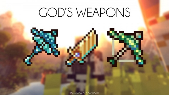 82b17  Gods Weapons Mod [1.7.10] Gods Weapons Mod Download