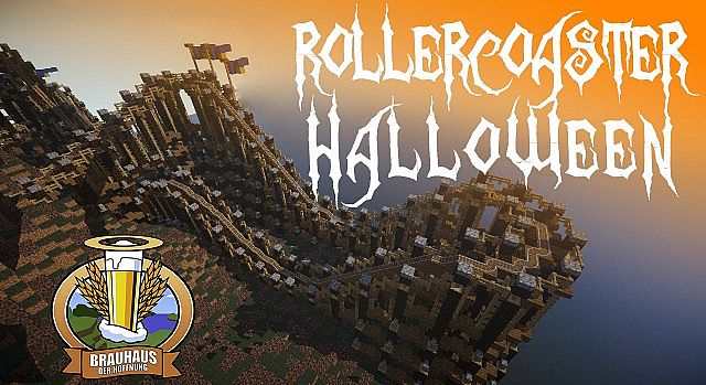 2dae2  Scary halloween coaster map [1.8] Scary Halloween Coaster Map Download