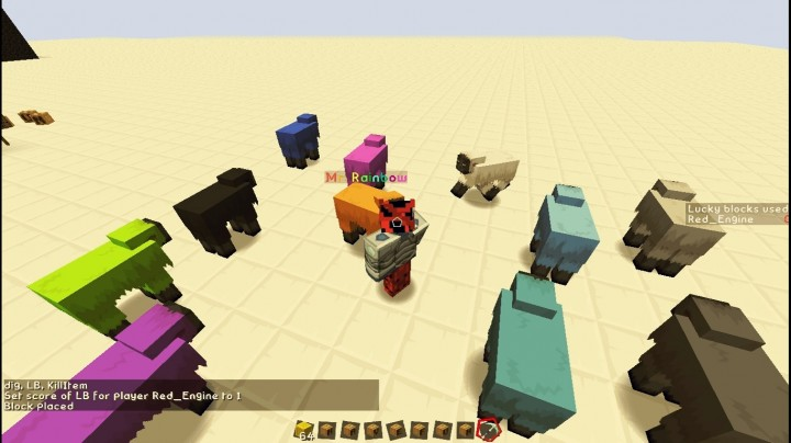 48eae  Lucky Block Map 1 [1.8] Lucky Block Map Download