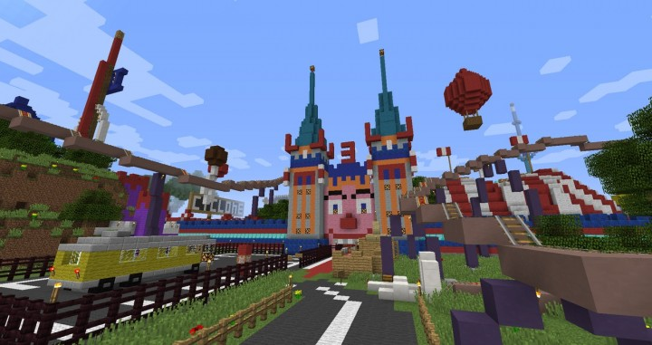 5fe17  Lunapark adventure map [1.8] Lunapark Adventure Map Download