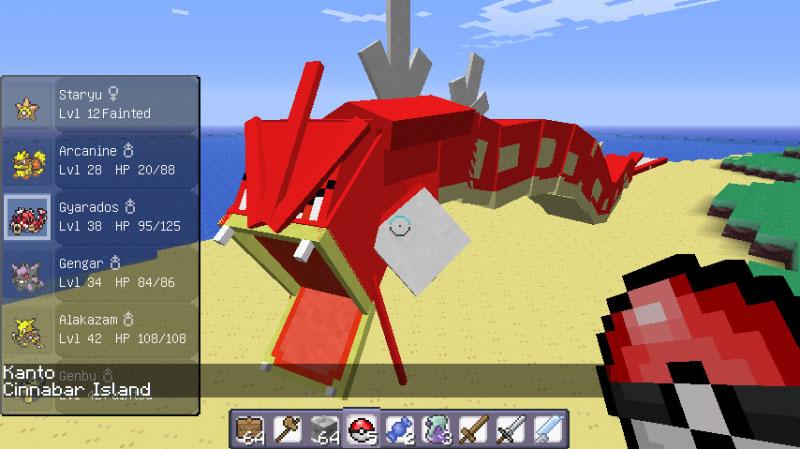 801a2  Pixelmon Mod 8 Pixelmon Screenshots