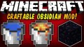 [1.8] Craftable Obsidian Mod Download