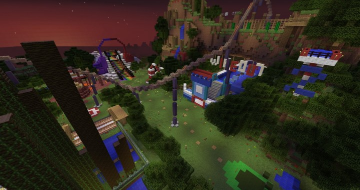 bfbc0  Lunapark adventure map 7 [1.8] Lunapark Adventure Map Download