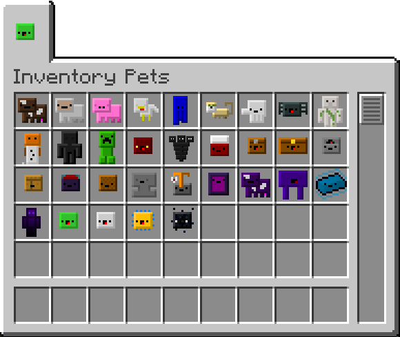cefe5  Inventory Pets Mod 1 Inventory Pets Screenshots and Recipes