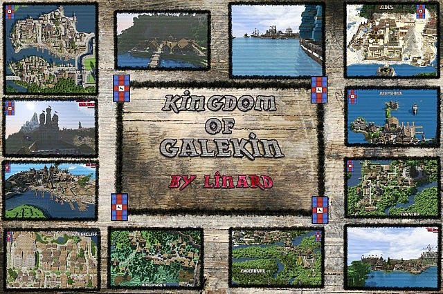 fa0a4  Kingdom of galekin map [1.7.10] Kingdom of Galekin Map Download