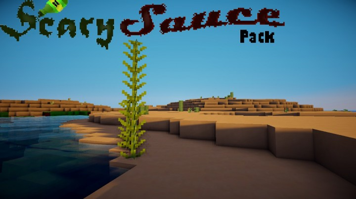 6a738  Scarysauce resource pack [1.9.4/1.8.9] [16x] ScarySauce Texture Pack Download