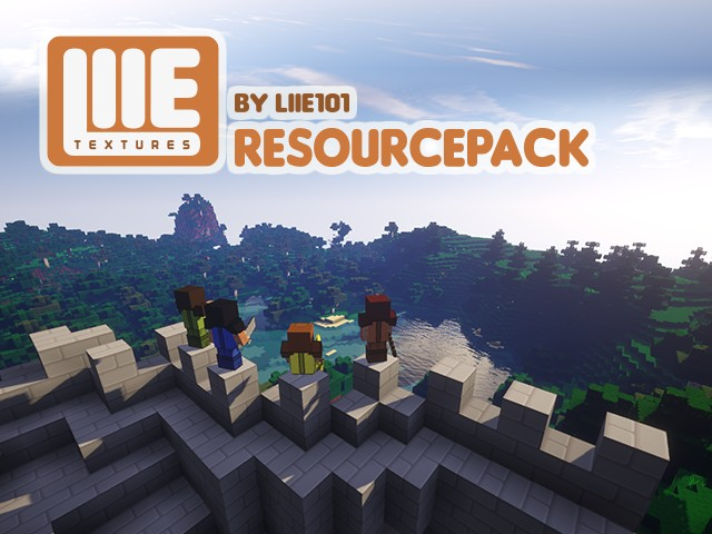 20eb0  LIIEs Resource Pack [1.9.4/1.8.9] [64x] LIIE's Texture Pack Download