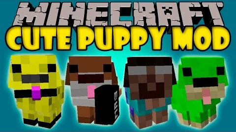 4ec79  Cute Puppy Mod [1.7.10] Cute Puppy Mod Download