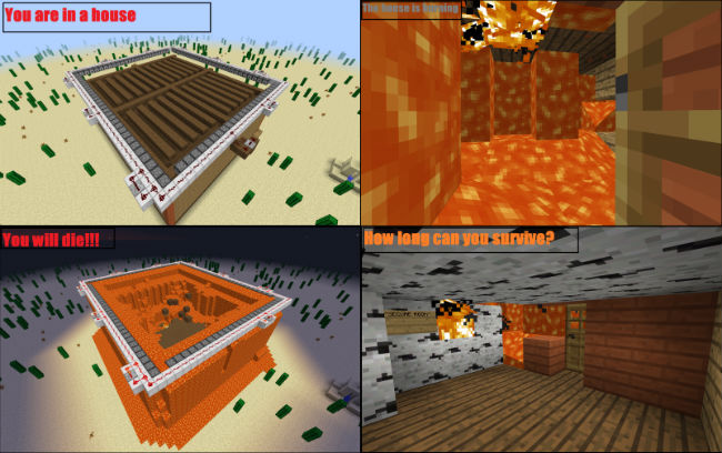 51433  Burning House Map 1 [1.8] Burning House Map Download