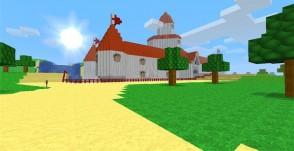 1 8] Super Mario 64: Peaches Castle Map Download | Minecraft