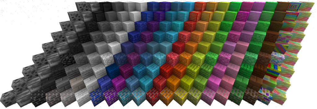 1 7 10 The Colored Blocks Mod Download Minecraft Forum