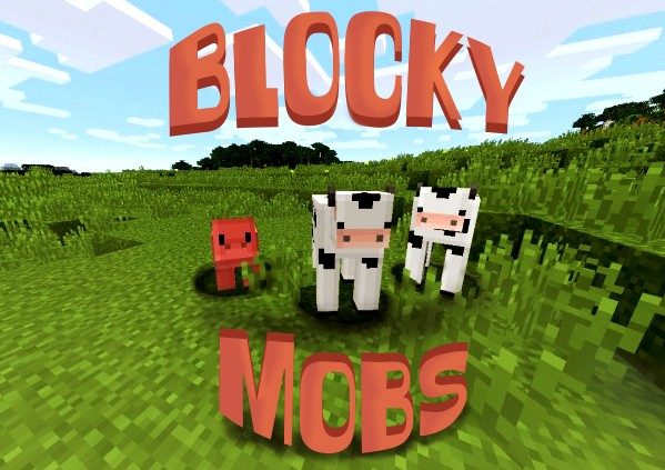 cow89893858992268 [1.9.4/1.8.9] [32x] Blocky Mobs Texture Pack Download