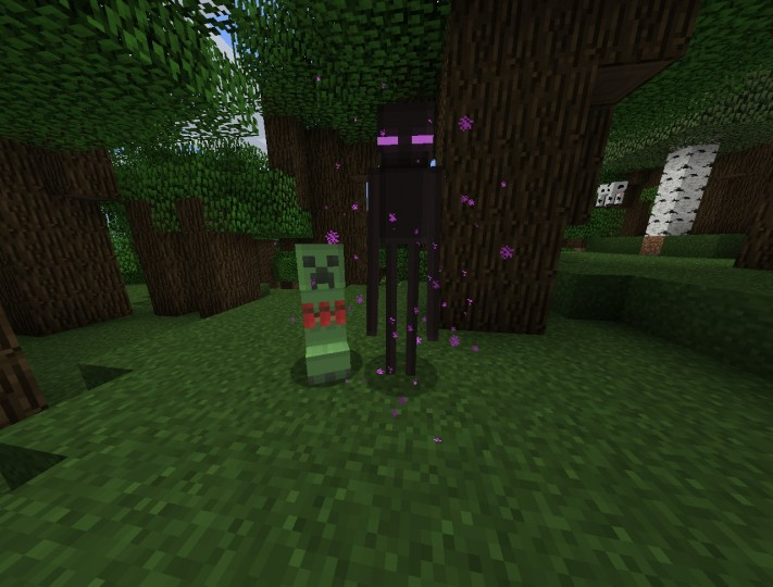creeper8989390 [1.9.4/1.8.9] [32x] Blocky Mobs Texture Pack Download