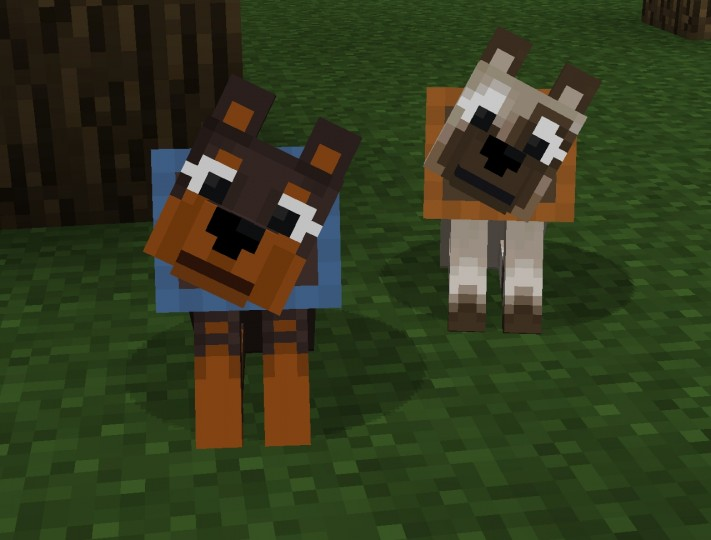 dog8989392 [1.9.4/1.8.9] [32x] Blocky Mobs Texture Pack Download