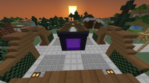 mezorah spawn 300x168 The Lands of Mezorah SMP Server