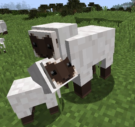 sheep8989401 [1.9.4/1.8.9] [32x] Blocky Mobs Texture Pack Download