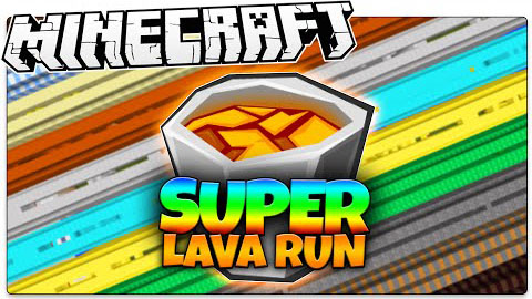 150d1  Super Lava Run Map [1.8] Super Lava Run Map Download