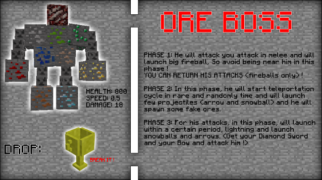 1f93d  Fake Ores 2 Mod 9 [1.9.4] Fake Ores 2 Mod Download