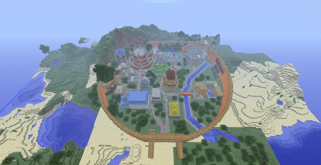 Naruto Konoha Map Download Minecraft Forum - Maps fur minecraft runterladen
