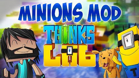 42c58  Thinks Lab Minions Mod [1.8] Think's Lab Minions Mod Download