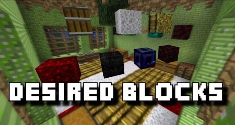 bae75  Desired Blocks Mod [1.7.10] Desired Blocks Mod Download