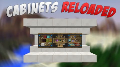 1d8f3  Cabinets Reloaded Mod [1.8] Cabinets Reloaded Mod Download