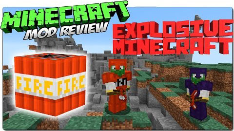 6a231  Explosive Minecraft Mod [1.8] Explosive Minecraft Mod Download