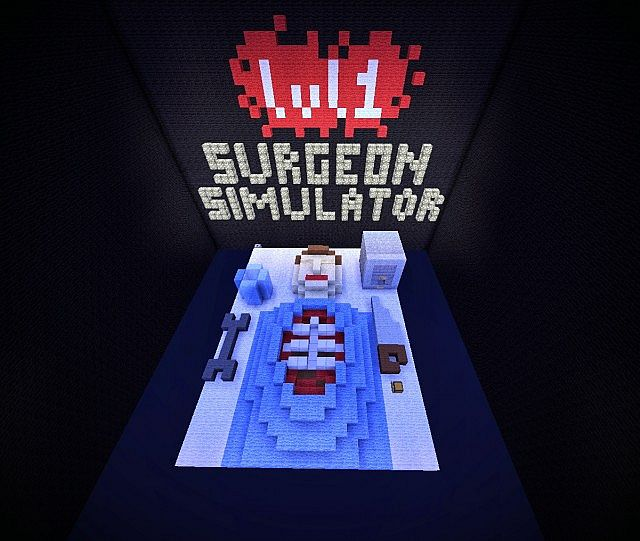 76fba  Surgeon Simulator Map 2 [1.8] Surgeon Simulator Map Download
