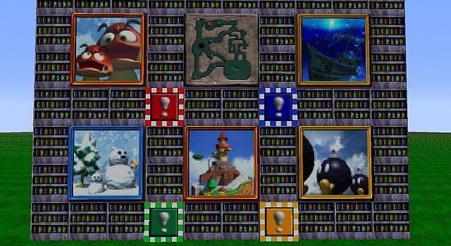 d586f  Super mario 64 resource pack 5 [1.9.4/1.9] [32x] Super Mario 64 Texture Pack Download