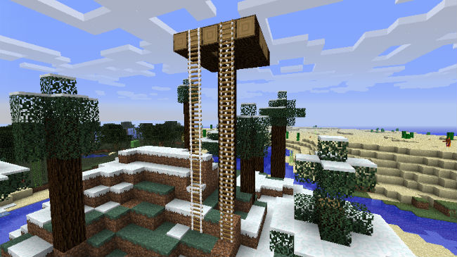 348e5  Extendable Ladders Mod 1 [1.7.10] Extendable Ladders Mod Download