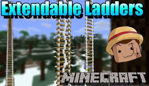 348e5  Extendable Ladders Mod [1.7.10] Extendable Ladders Mod Download