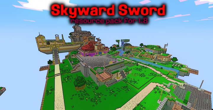 b40cb  Skyward sword resource pack [1.9.4/1.8.9] [32x] Skyward Texture Pack Download