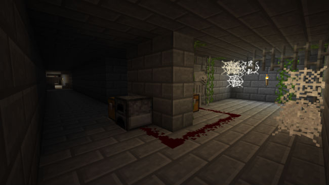 f66d2  The Mine Horror Map 1 [1.8] The Mine Horror Map Download
