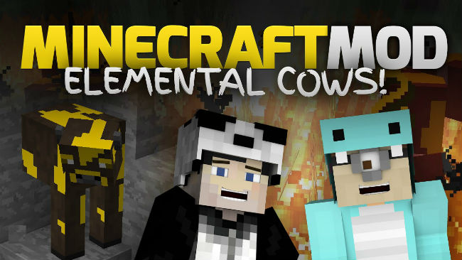 108f3  Elemental Cows Reborn Mod [1.8] Elemental Cows Reborn Mod Download